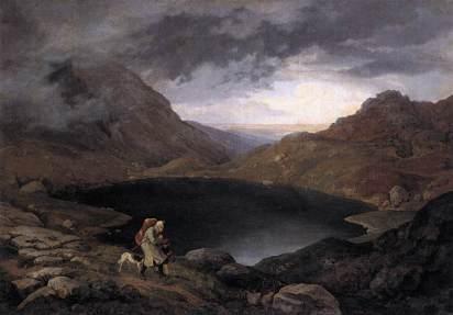 Adrian Ludwig Richter: Zabłąkany w górach