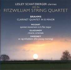 Johannes Brahms: Kwintet klarnetowy (okładka płyty)