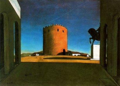 Giorgio de Chirico: Czerwona Wieża