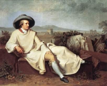 Wilhelm Tischbein: Goethe we Włoszech