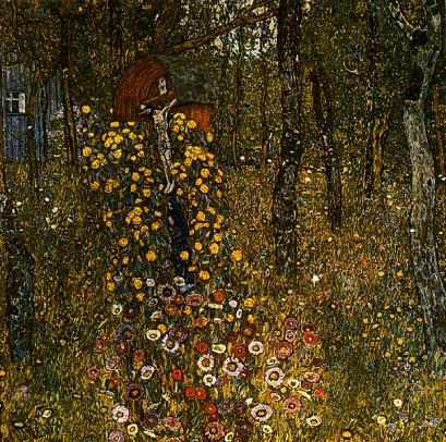 Gustaw Klimt: Krucyfiks w ogrodzie