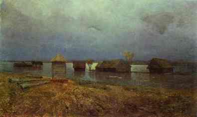 Izaak Lewitan: Powódź