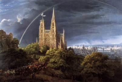 Karl Friedrich Schinkel: Gotycka katedra i pałac cesarski
