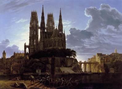 Karl Friedrich Schinkel: Miasto średniowieczne