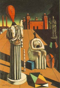 Giorgio de Chirico: Niespokojne muzy
