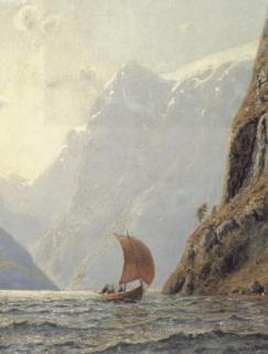 Hans Dahl: żegluga po fiordzie