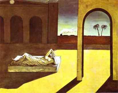 Giorgio de Chirico: Wynagrodzenie wróżbity