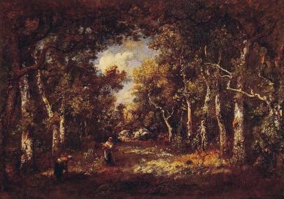 Narcisse Diaz de la Pena: Las Fontainebleau