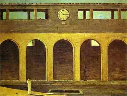 Giorgio de Chirico: Zagadka godziny