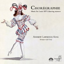 """""""Chorégraphie"""" - okładka płyty"""