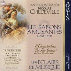 Nicolas Chédeville: Les saisons amusantes (okładka płyty)