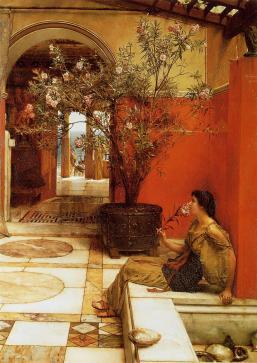 Sir Lawrence Alma-Tadema: Oleander