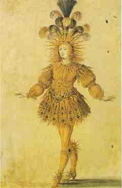 """Ludwik XIV w """"Ballet de la nuit (1653)"""
