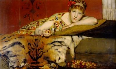 Sir Lawrence Alma-Tadema: Słodycze