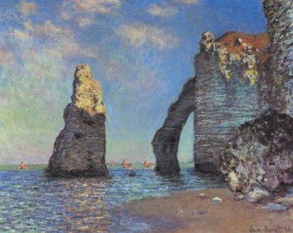 Claude Monet: Skały w Etretat