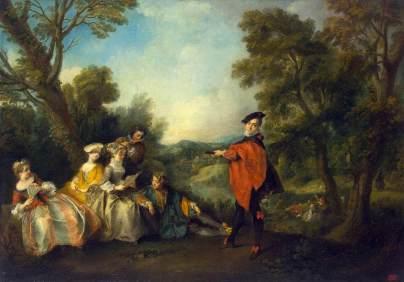 Nicolas Lancret: Koncert w parku