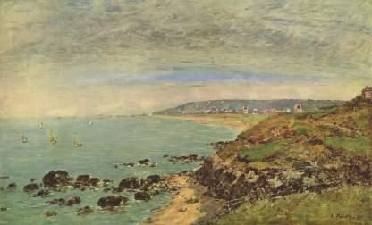 Eugène Boudin: Wybrzeże Atlantyku w okolicach Bénerville