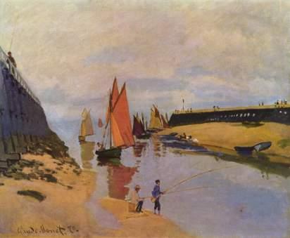 Claude Monet: Port w Trouville