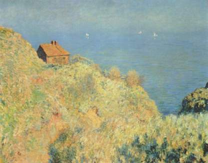 Claude Monet: Domek rybaka w Varengeville