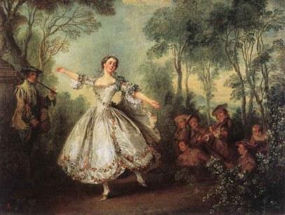 Nicolas Lancret: Taniec panny de Camargo