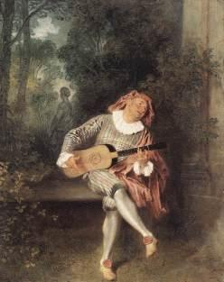 Jean Antoine Watteau: Mezzetin