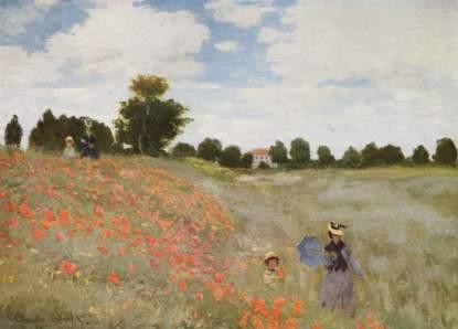 Claude Monet: Pole maków