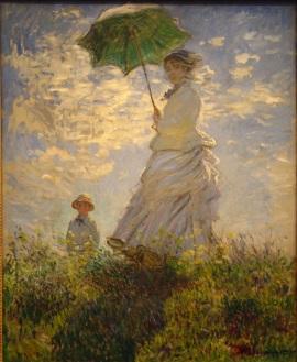 Claude Monet: Parasolka