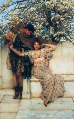 Sir Lawrence Alma-Tadema: Obietnica wiosny