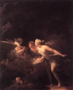 Jean-Honoré Fragonard: Fontanna miłości