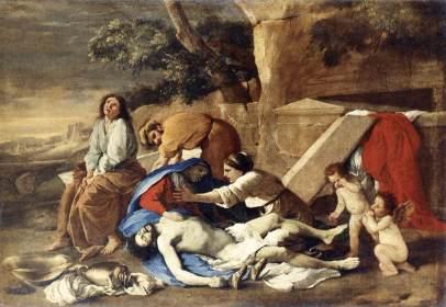Nicolas Poussin: Lament nad martwym Chrystusem