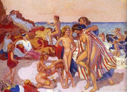 Maurice Denis: Bachus i Ariadna