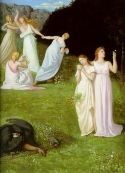 Pierre Puvis de Chavannes: Śmierć i dziewczyna