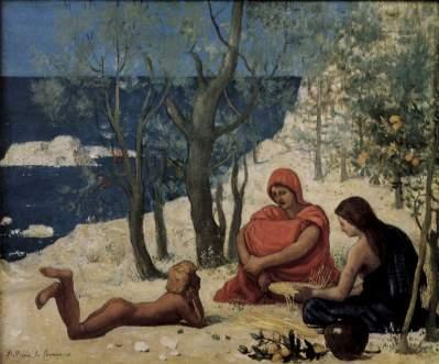 Puvis de Chavannes: Białe skały