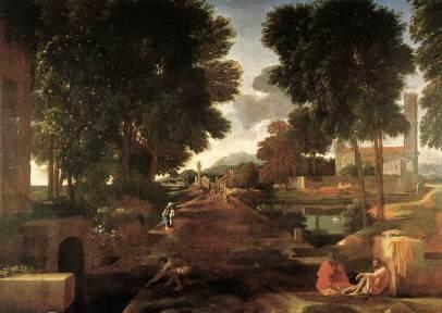Nicolas Poussin: Droga rzymska