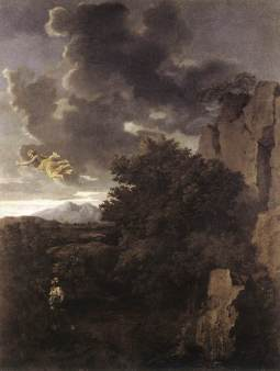 Nicolas Poussin: Hagar i Anioł