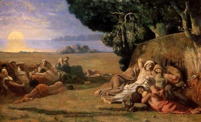 Pierre Puvis de Chavannes: Drzemka