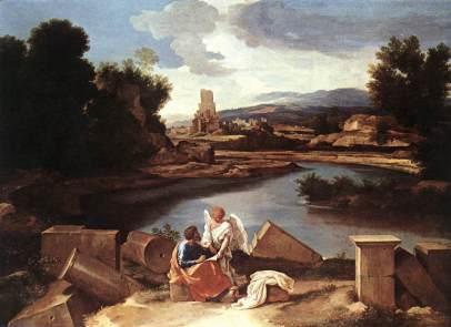 Nicolas Poussin: Święty Mateusz z aniołem