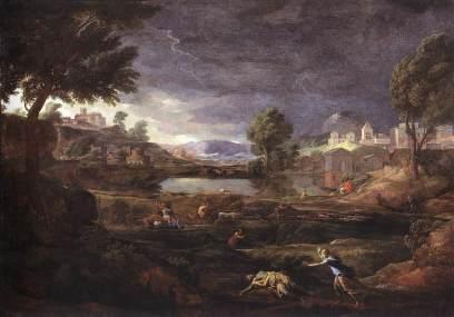 Nicolas Poussin: Pyram i Tysbe