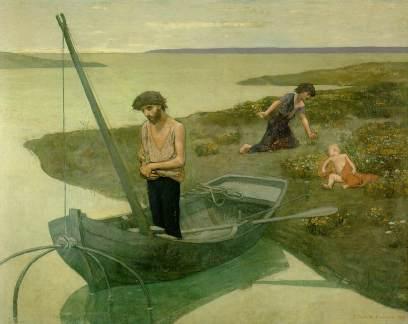 Pierre Puvis de Chavannes: Biedny rybak
