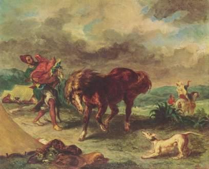 """""""Marokańczyk z koniem"""""""