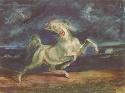 """""""Koń przerażony błyskawicą"""""""
