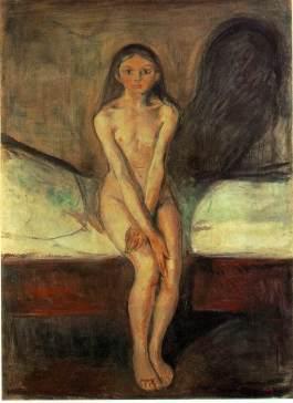 Edward Munch: Dojrzewanie