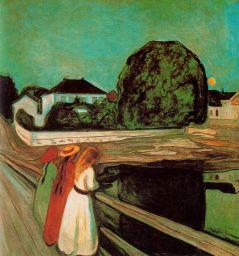 Edward Munch: Dziewczęta na moście