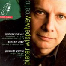 Pieter Wispelwey: Szostakowicz i Britten (okładka płyty)