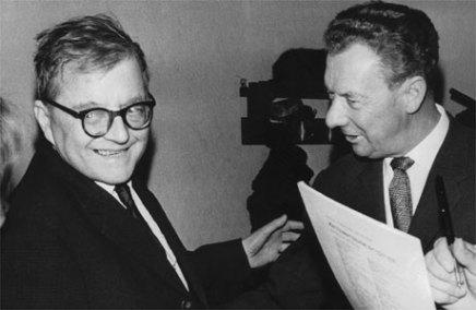 Dymitr Szostakowicz i Benjamin Britten