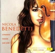 Nicola Benedetti: okładka debiutanckiej płyty