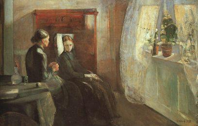Edward Munch: Wiosna