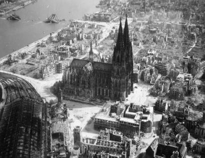Kolonia, rok 1945