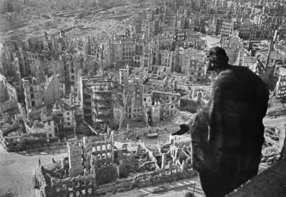 Drezno, rok 1945