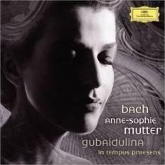 Koncerty skrzypcowe Bacha i Gubaiduliny (okładka płyty)
